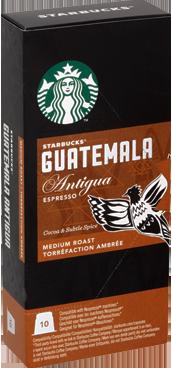 Starbucks - Starbucks Guatemala Antigua Espresso Kapsül Kahve 10 Adet