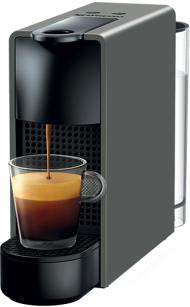 Nespresso Essanza Mini C Gri Kapsüllü Kahve Makinesi