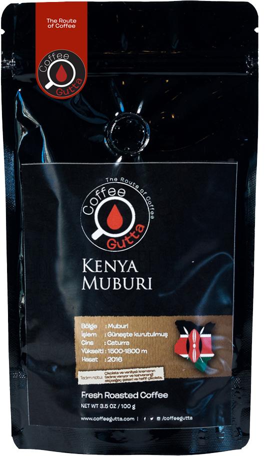 Coffee Gutta - Coffee Gutta Kenya Muburi Kahve 100 G