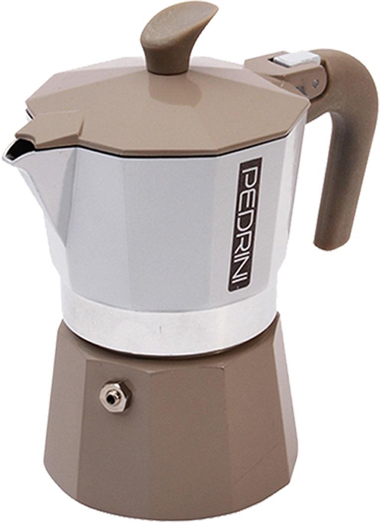 Pedrini - Pedrini Kaffet-Vintage 1 Cup Bej Moka Pot