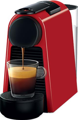 Nespresso - Nespresso Essanza Mini D Kırmızı Kapsüllü Kahve Makinesi