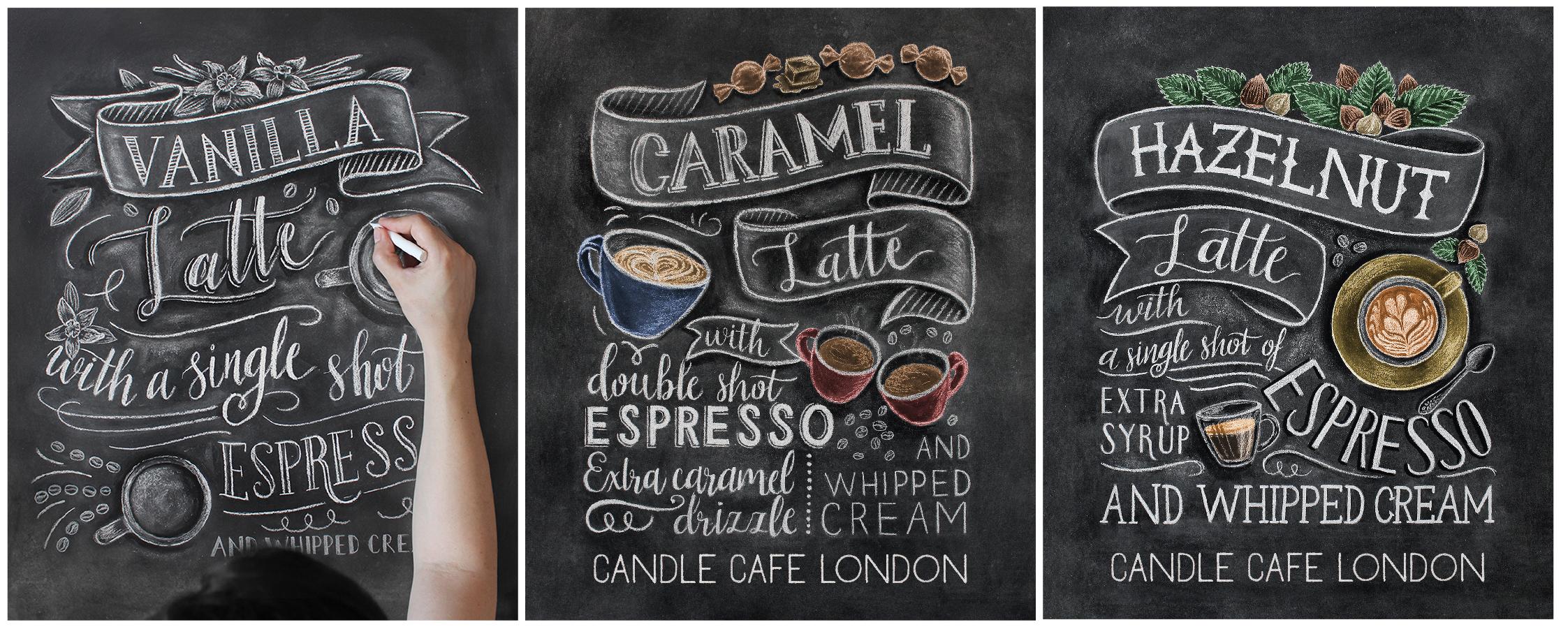 Chalk Art Sanatçısı Arzu Çalışır Gökmen, İyi Kahve ile İyi Tasarımı Birleştiriyor