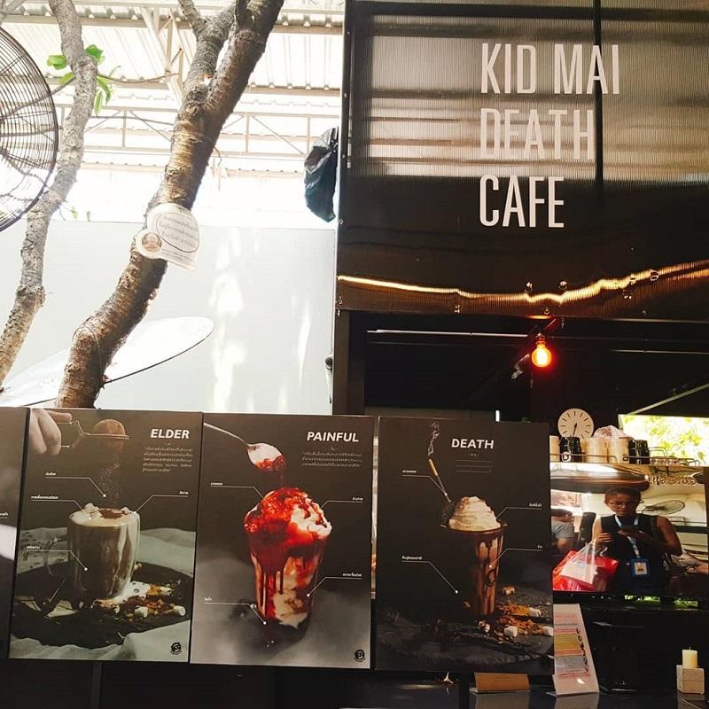 Tayland'da Bir Garip Konsept: Ölüm Kafe