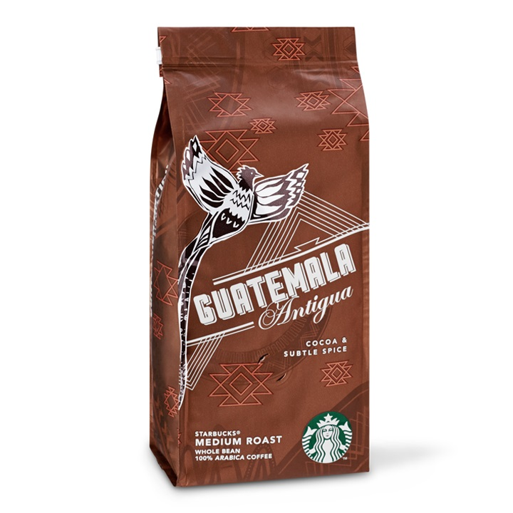 Starbucks Guatemala Antigua Medium Roast Çekirdek Kahve 250 G