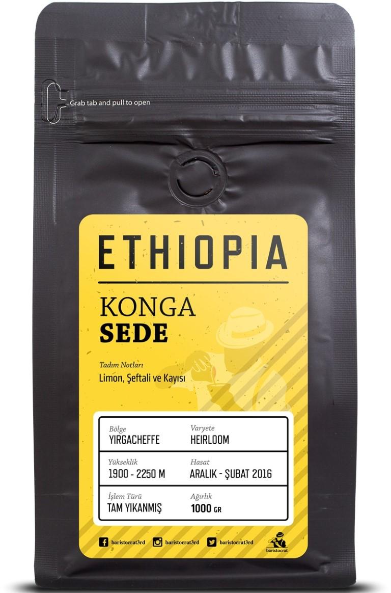 Baristocrat - Baristocrat Ethiopia Konga Sede Kahve 250 G