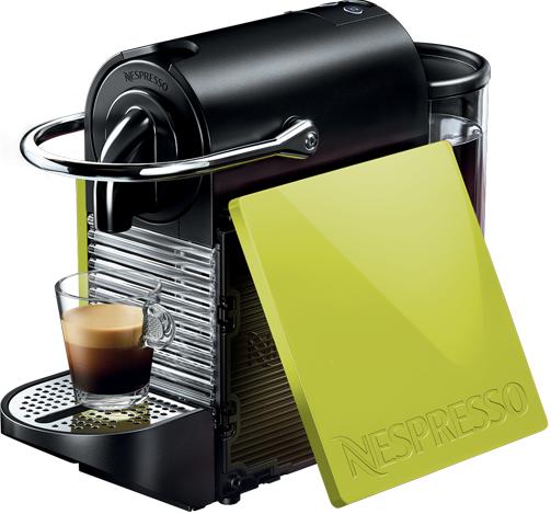 Nespresso - Nespresso Pixie Clips Yeşil Kapsüllü Kahve Makinesi