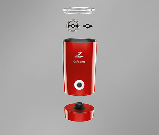 Tchibo Elektrikli Süt Köpürtücü Kırmızı