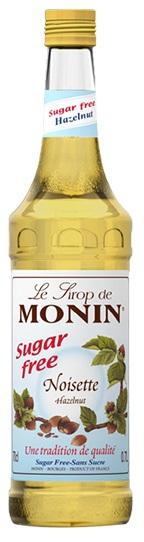 Monin - Monin Noisette Sugar Free Şurup 0.7 L