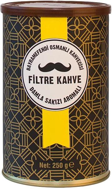 Bayramefendi Osmanlı Kahvecisi - Bayramefendi Osmanlı Kahvecisi Damla Sakızlı Filtre Kahve 250 G