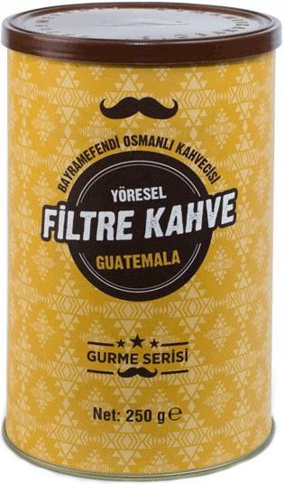 Bayramefendi Osmanlı Kahvecisi - Bayramefendi Osmanlı Kahvecisi Guatemela Öğütülmüş Kahve 250 G