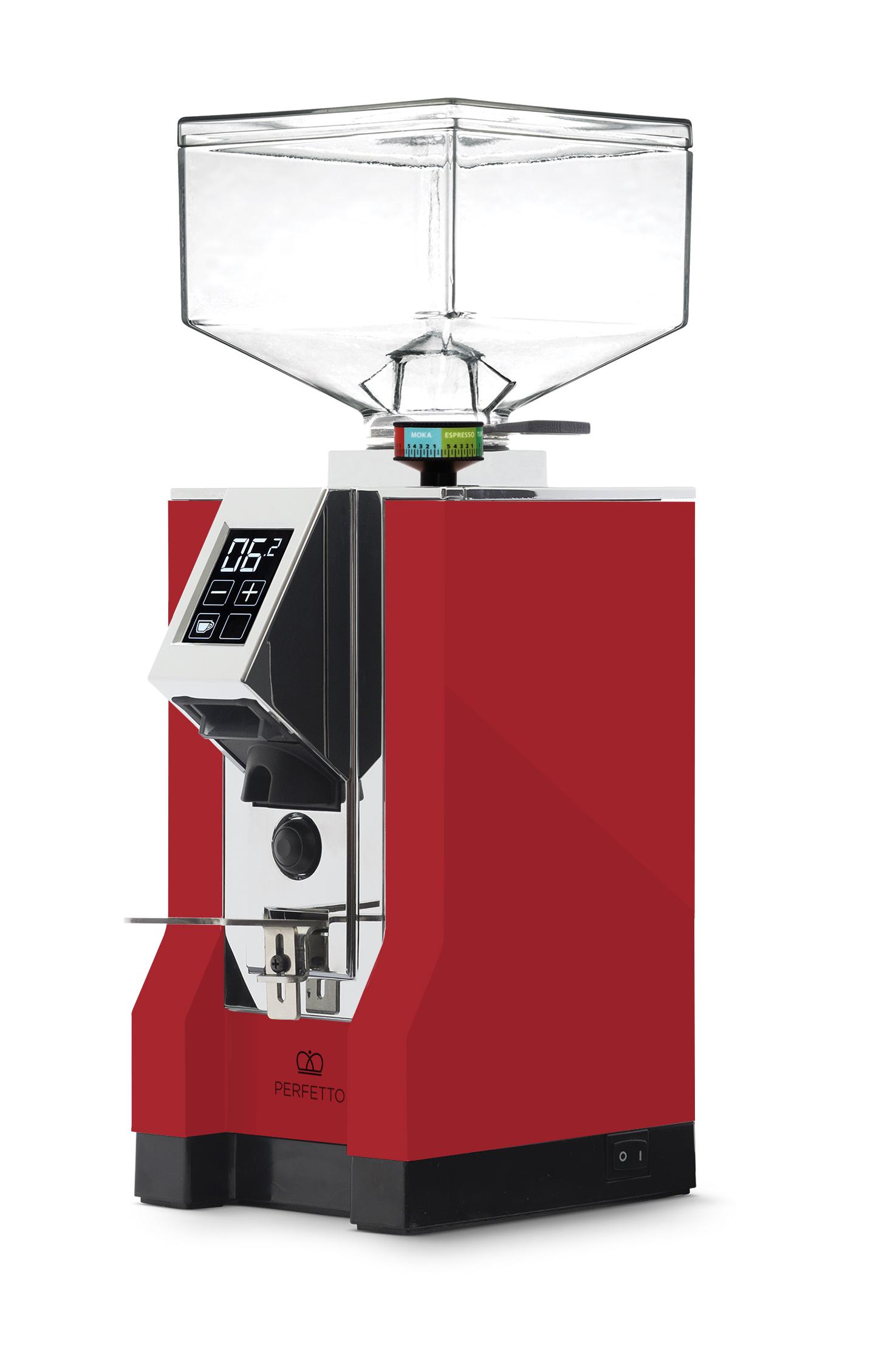 Eureka - Eureka Mignon Perfetto 16CR Kahve Öğütücü Ferrari Red