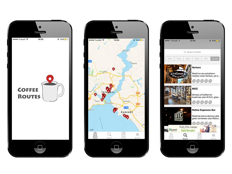 Coffee Routes Uygulamasıyla En Yakın Nitelikli Kahveye Ulaşın