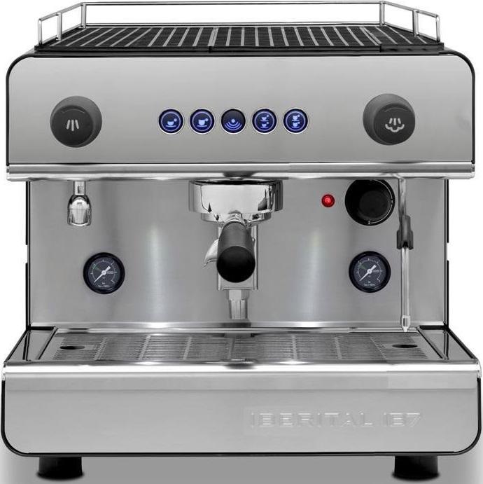 Iberital - Iberital IB7 1 Grup Espresso Makinesi Siyah