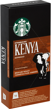 Starbucks Kenya Espresso Kapsül Kahve 10 Adet