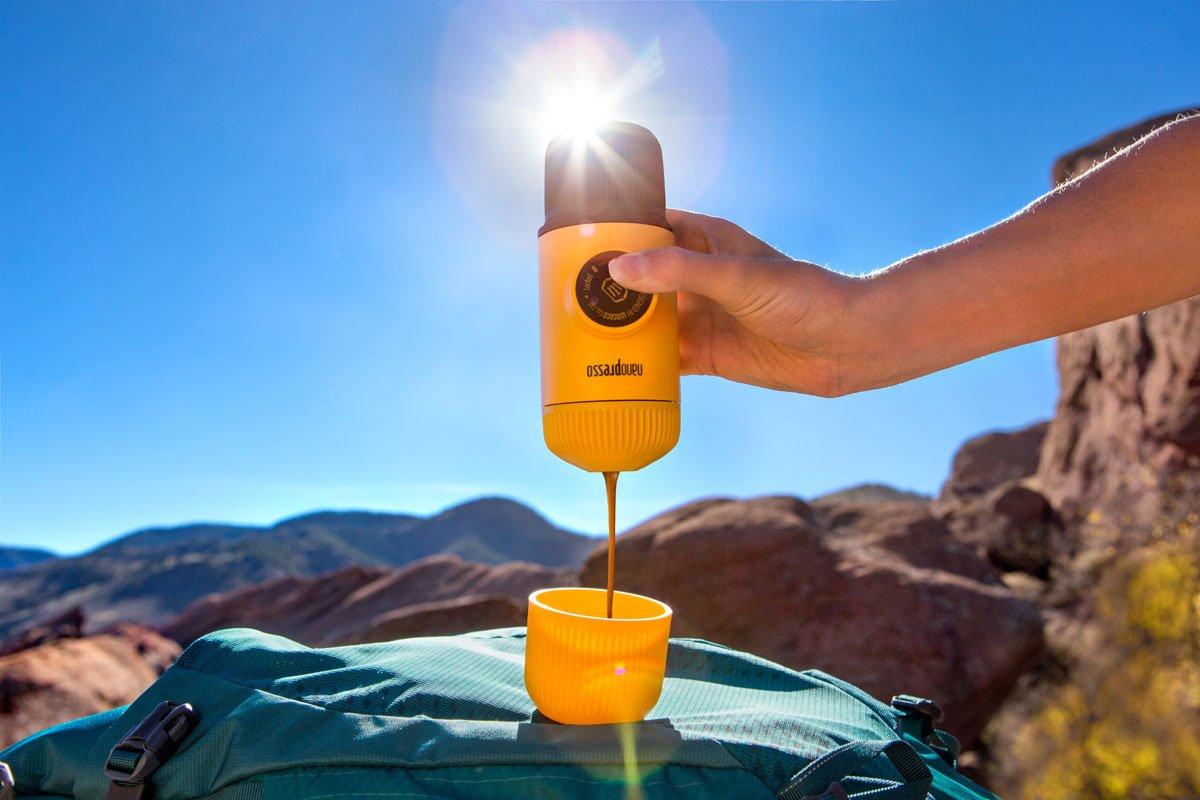 Wacaco Nanopresso Yellow Patrol Taşınabilir Kahve Makinesi