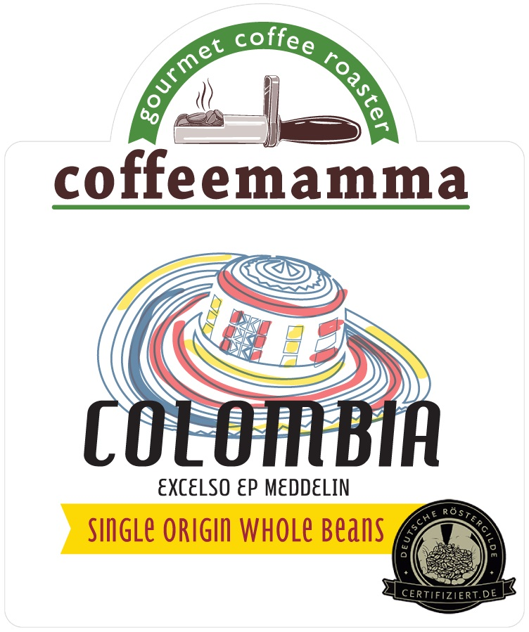 Coffeemamma - Coffeemamma Colombia Excelso EP Meddelin Kahve 250 G