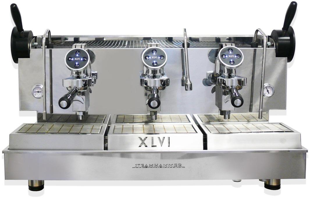 XLVI - XLVI Electronic Steamhammer 3 Grup Espresso Makinesi