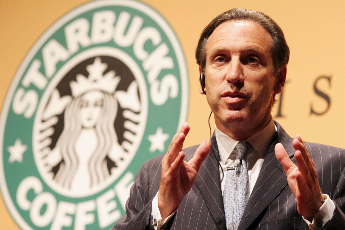 Howard Schultz Starbucks'taki Görevinden Ayrılıyor