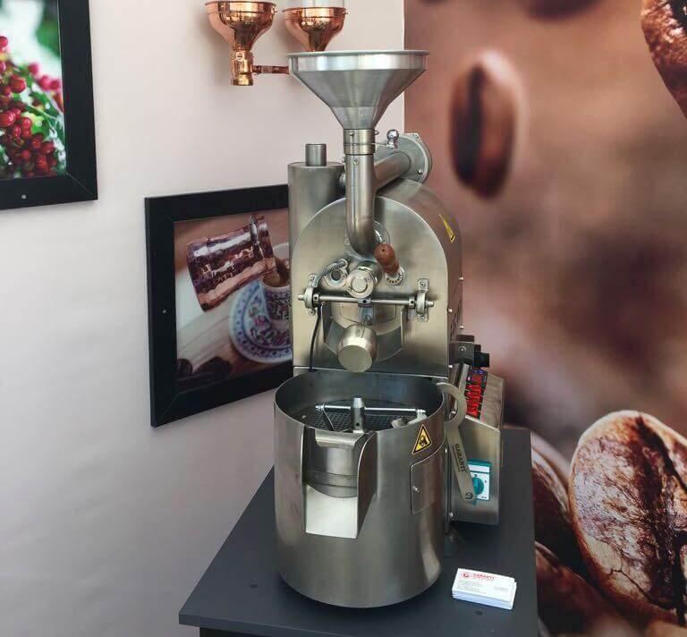 Garanti Değirmenleri GGKX-G Numune Kahve Kavurma Makinesi