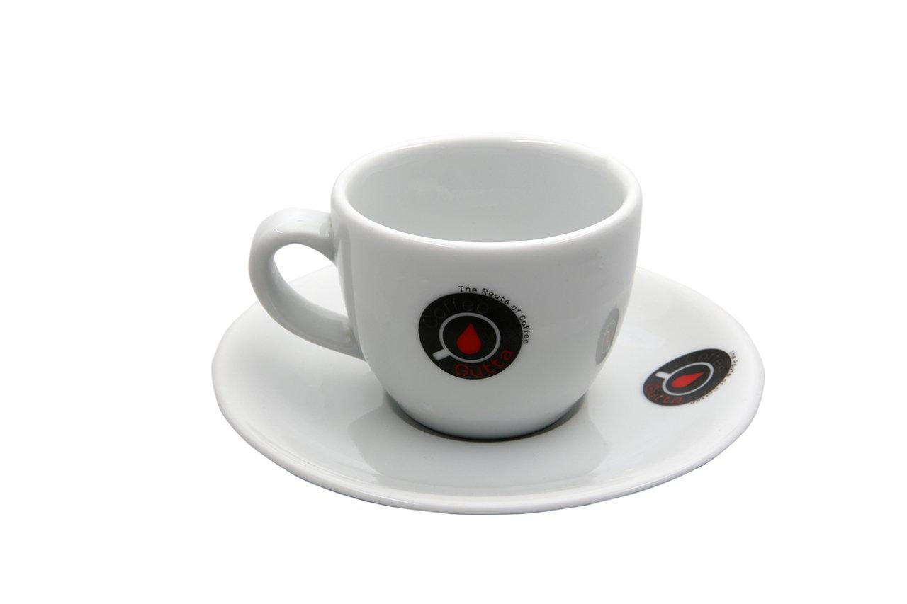 Coffee Gutta - Coffee Gutta Tabaklı Kahve Fincanı