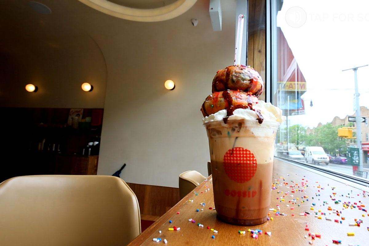 Kremalar Şuruplar Yetmiyor; Donutccino!