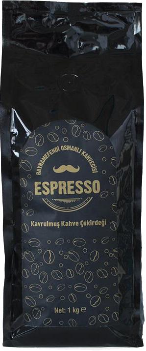 Bayramefendi Osmanlı Kahvecisi - Bayramefendi Osmanlı Kahvecisi Espresso Kavrulmuş Çekirdek Kahve 1 KG