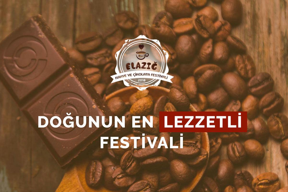 Elazığ'da Kahve ve Çikolata Festivali Düzenlendi