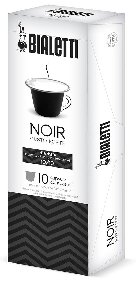 Bialetti - Bialetti Noir Nespresso Uyumlu Kapsül Kahve 10 Adet
