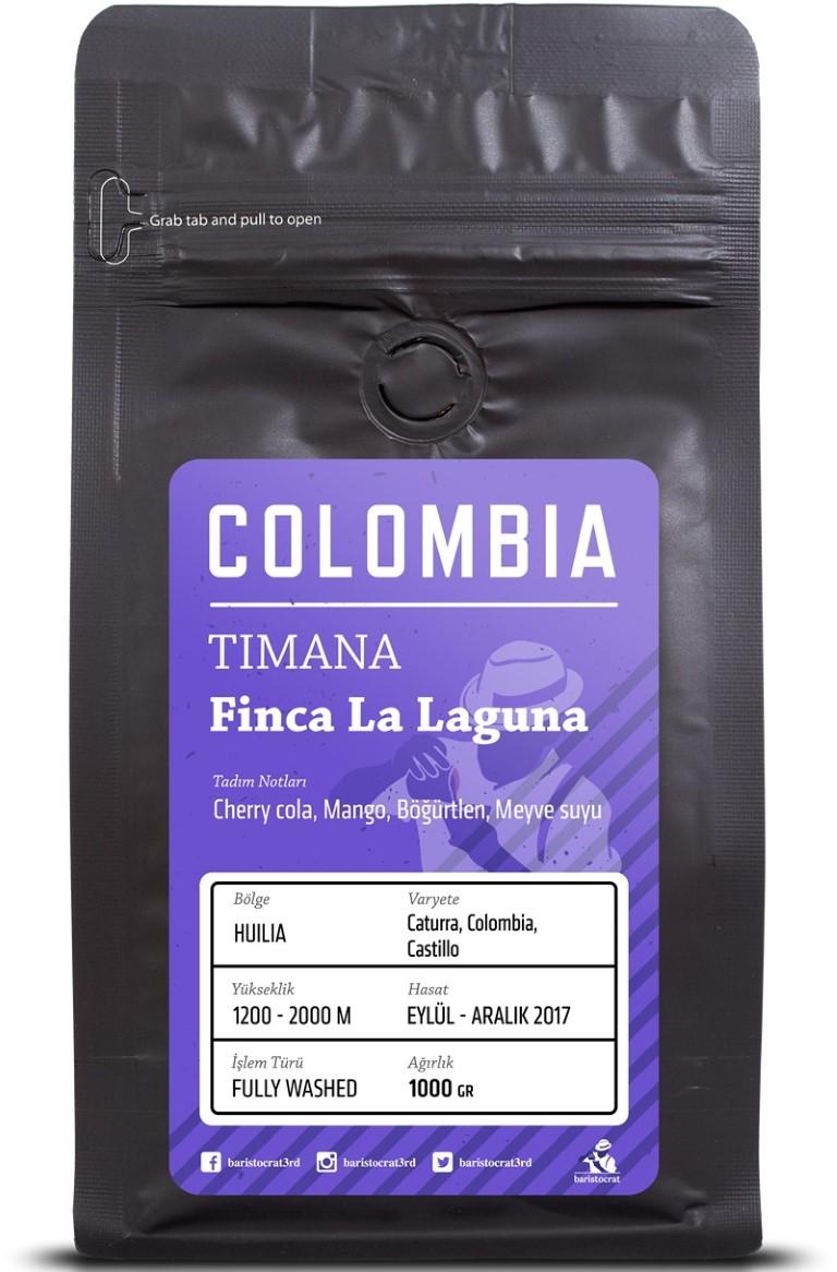 Baristocrat - Baristocrat Colombia Timana Finca La Laguna Kahve 1000 G