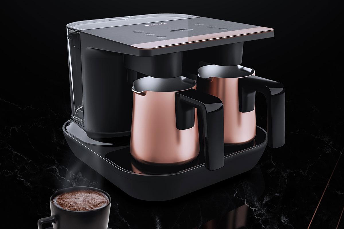 İlk Türk Kahvesi Makinesi Arçelik Telve Yenilendi