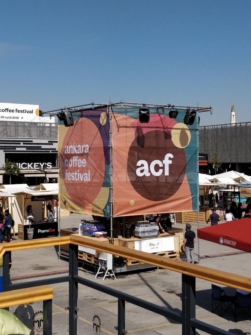 Ankara Coffee Festival 2018'de Tüm Ülkeden Kahve Dükkanları Buluştu