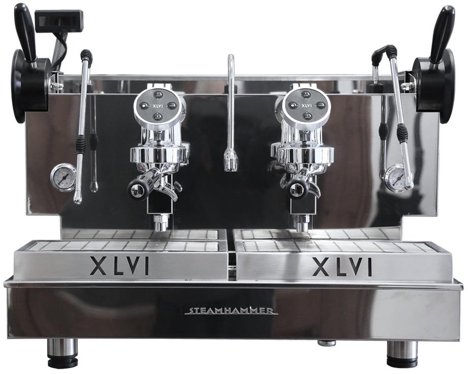 XLVI - XLVI Electronic Steamhammer 2 Grup Espresso Makinesi