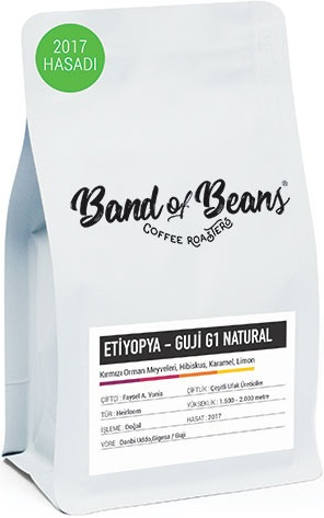 Band of Beans Etiyopya Guji G1 Natural Kahve 250 G