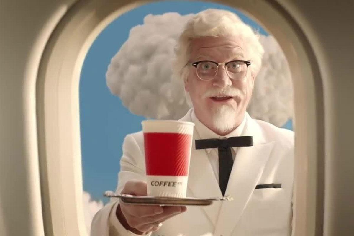 KFC'den İlginç Kahve Reklamı