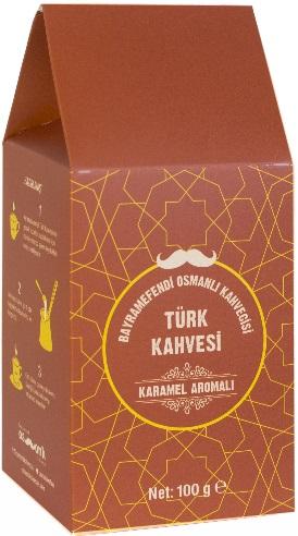 Bayramefendi Osmanlı Kahvecisi - Bayramefendi Osmanlı Kahvecisi Karamelli Türk Kahvesi 100 G