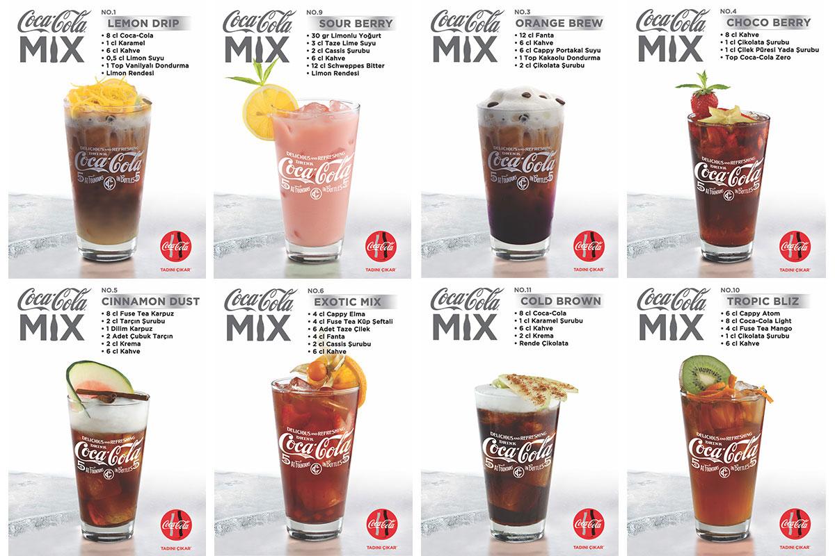 Coca-Cola Mix Kahveli Kokteyl Tarifleri