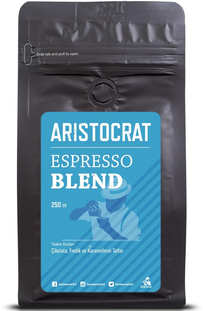 Baristocrat - Baristocrat Aristocrat Espresso Blend Kahve 250 G