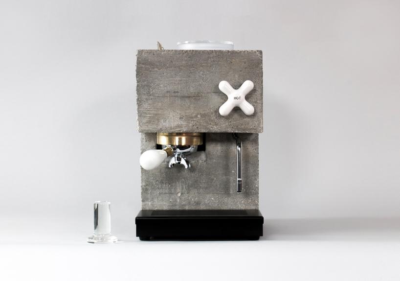 Beton Espresso Makinesi Anza