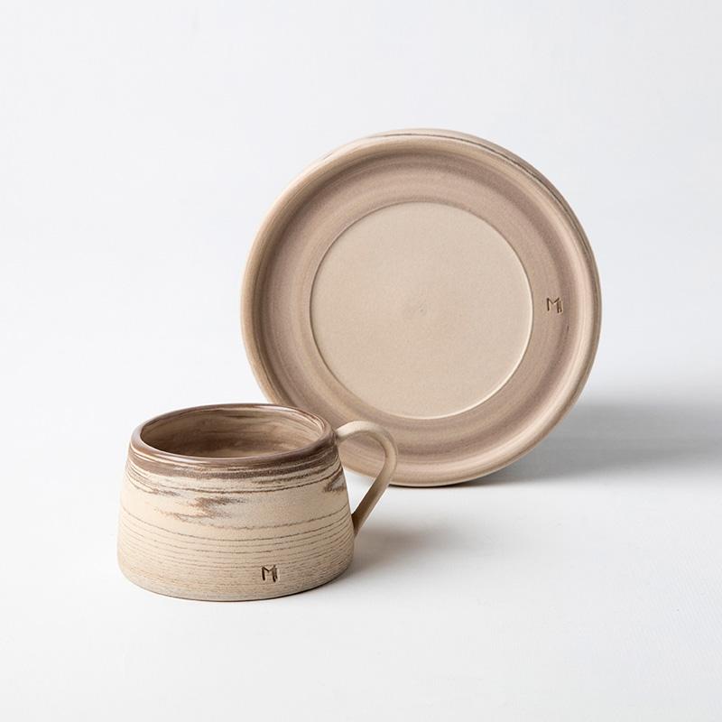 Masuma Ceramics Kahverengi Türk Kahvesi Fincanı