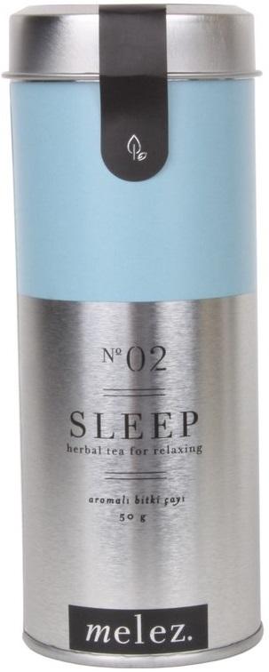 Melez Tea - Melez Tea Sleep Bitki Çayı 50 G Teneke Kutu