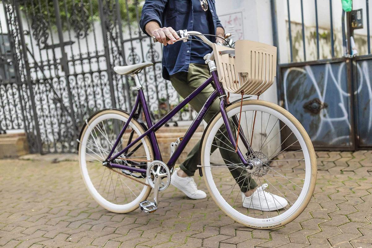 Geri Dönüştürülmüş Kahve Kapsüllerinden Üretilen Bisiklet