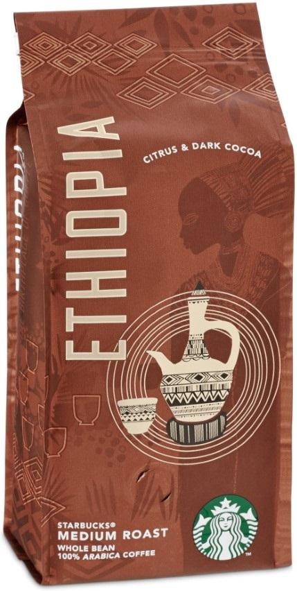 Starbucks - Starbucks Ethiopia Medium Roast Çekirdek Kahve 250 G