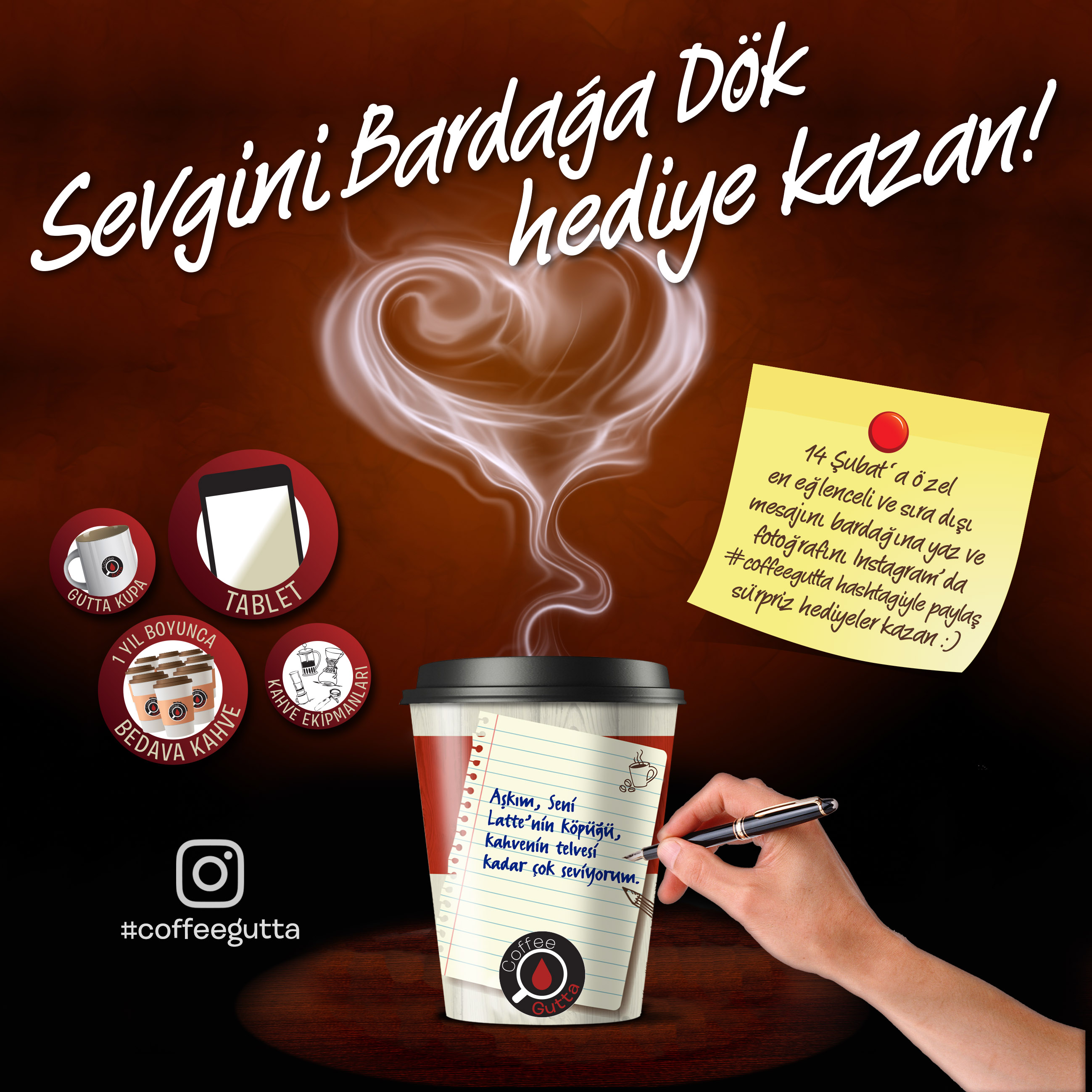 14 Şubat Geliyor, Kampanyalar Başlıyor: Sevgini Bardağa Dök