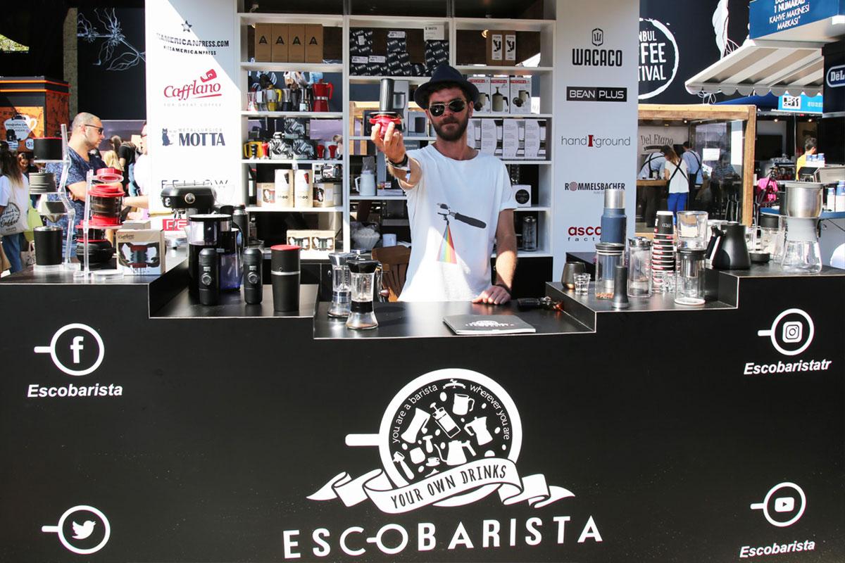 Escobarista ile Nerede Olursanız Olun İyi Kahve Yanınızda