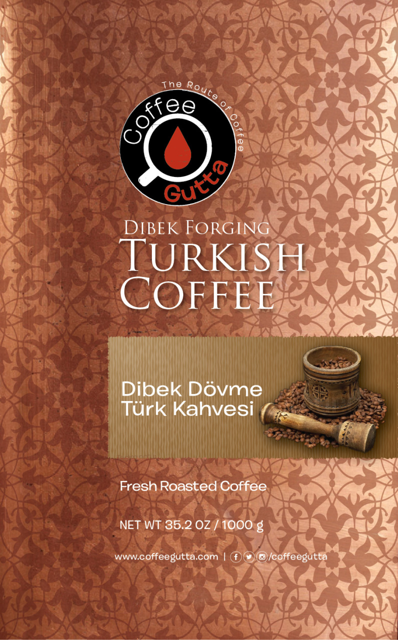 Coffee Gutta Dibek Dövme Kahvesi 1000 G