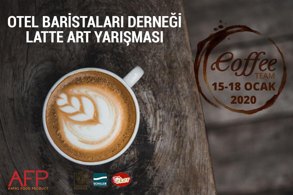 Otel Baristaları Latte Art Hünerlerini Sergileyecek
