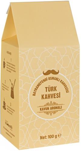 Bayramefendi Osmanlı Kahvecisi - Bayramefendi Osmanlı Kahvecisi Kavunlu Türk Kahvesi 100 G