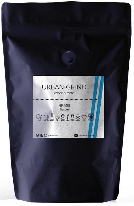 Urban Grind - Urban Grind Brasil Naturel Çekirdek Kahve 250 G