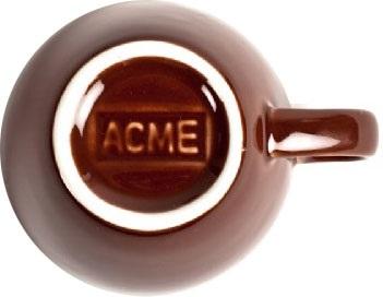 Acme - Acme Demitasse Kahverengi Fincan