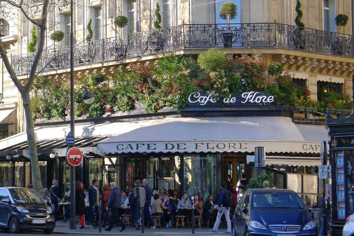 Paris'te Müşteri Profiliyle Sıyrılan Bir Yer; Cafe de Flore - Vlog